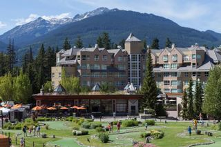 """Photo 1: 310 4557 BLACKCOMB Way in Whistler: Benchlands Condo for sale in """"Le Chamois"""" : MLS®# R2590719"""