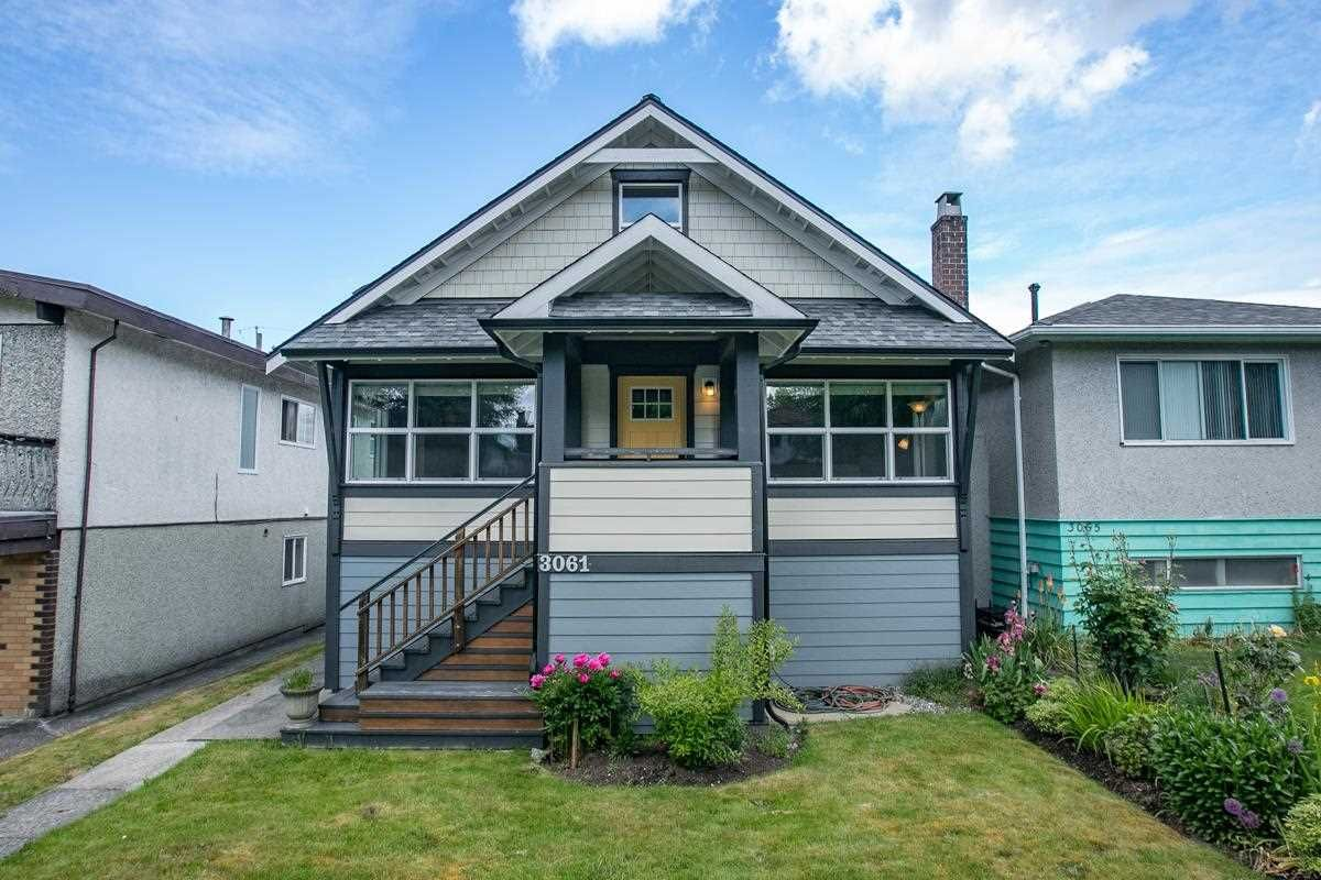 Main Photo: 3061 E 18TH Avenue in Vancouver: Renfrew Heights House for sale (Vancouver East)  : MLS®# R2585313