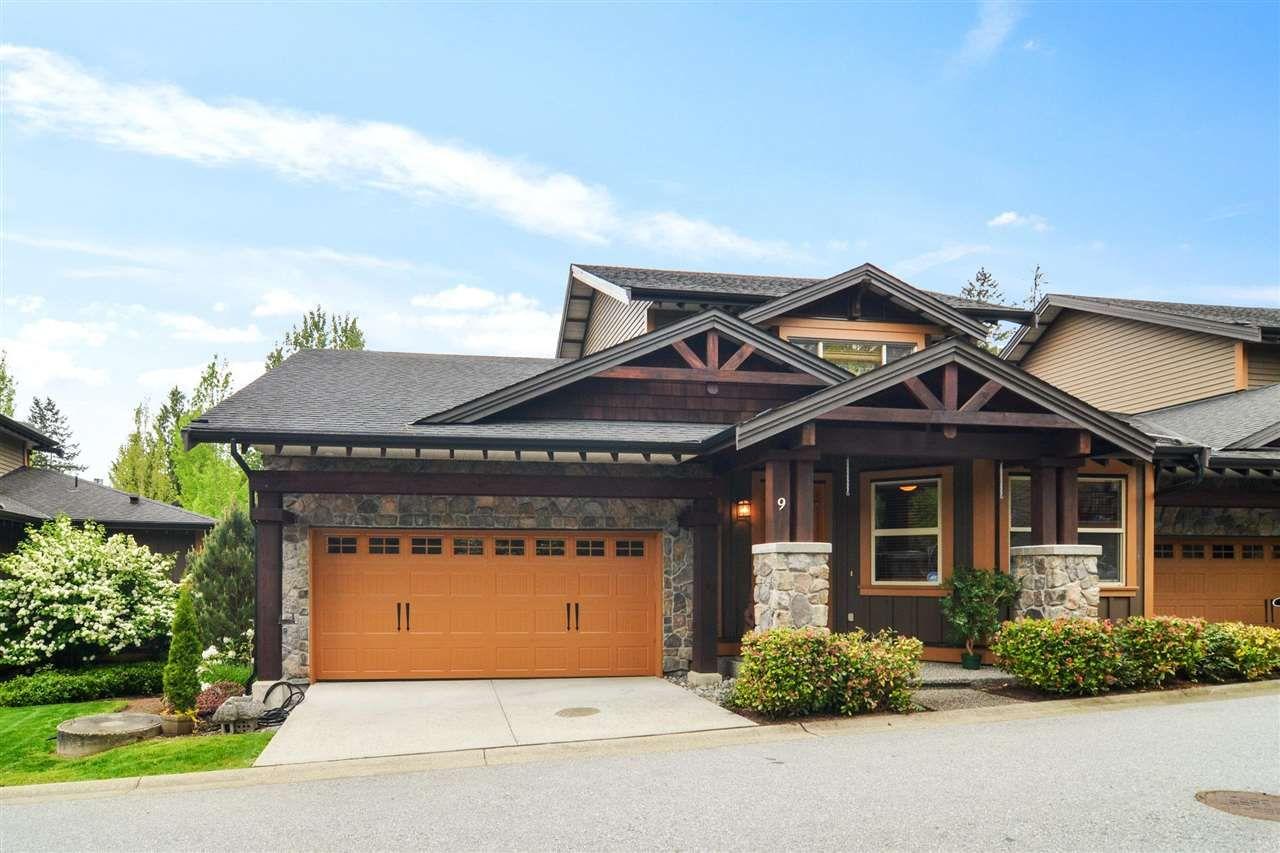 "Main Photo: 9 24185 106B Avenue in Maple Ridge: Albion Townhouse for sale in ""Trails Edge"" : MLS®# R2575529"