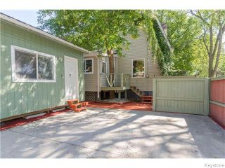 Photo 18: 74 Evanson Street in Winnipeg: Wolseley Residential for sale (5B)  : MLS®# 1622066