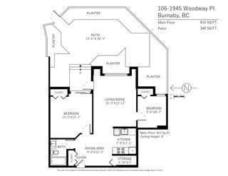 """Photo 19: 106 1945 WOODWAY Place in Burnaby: Brentwood Park Condo for sale in """"Hillside Terrace"""" (Burnaby North)  : MLS®# R2276646"""