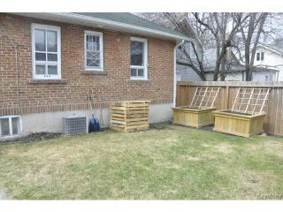 Photo 20: 555 Alfred Avenue in WINNIPEG: North End Residential for sale (North West Winnipeg)  : MLS®# 1409655