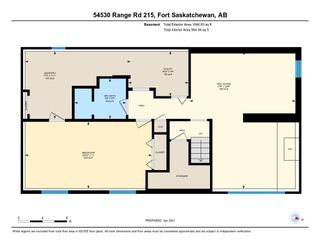 Photo 12: 54530 RGE RD 215: Rural Strathcona County House for sale : MLS®# E4240974