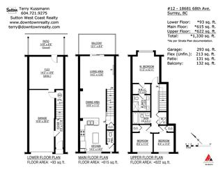 """Photo 20: 12 18681 68 Avenue in Surrey: Clayton Townhouse for sale in """"Creekside"""" (Cloverdale)  : MLS®# R2391665"""