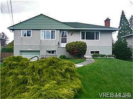 Main Photo: 1672 Cedar Ave in VICTORIA: SE Mt Tolmie House for sale (Saanich East)  : MLS®# 691420