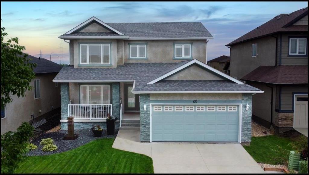 Main Photo: 65 Blue Sun Drive in Winnipeg: Sage Creek Residential for sale (2K)  : MLS®# 202120623