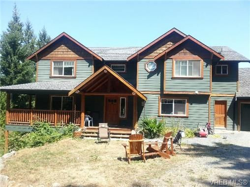 Main Photo: 3268 Shawnigan Lake Rd in COBBLE HILL: ML Shawnigan House for sale (Malahat & Area)  : MLS®# 679539