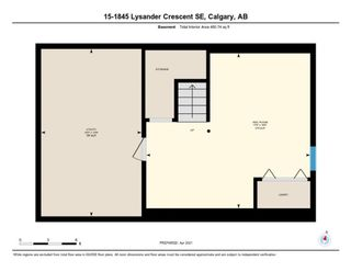 Photo 30: 15 1845 Lysander Crescent SE in Calgary: Ogden Row/Townhouse for sale : MLS®# A1093994