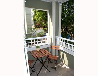 """Photo 4: 207 937 W 14TH Avenue in Vancouver: Fairview VW Condo for sale in """"VILLA 937"""" (Vancouver West)  : MLS®# V769080"""