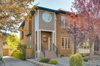 Photo 1: 729 23 Avenue NW in Calgary: Mount Pleasant Semi Detached for sale : MLS®# A1031696