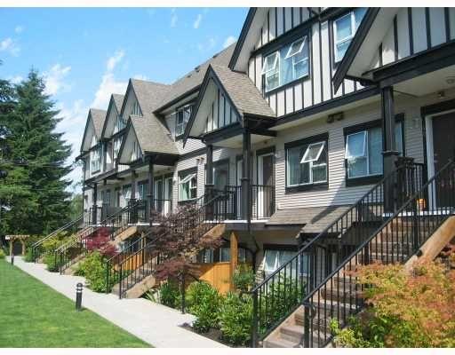 "Main Photo: 33 730 FARROW Street in Coquitlam: Coquitlam West Townhouse for sale in ""FARROW RIDGE"" : MLS®# V658875"