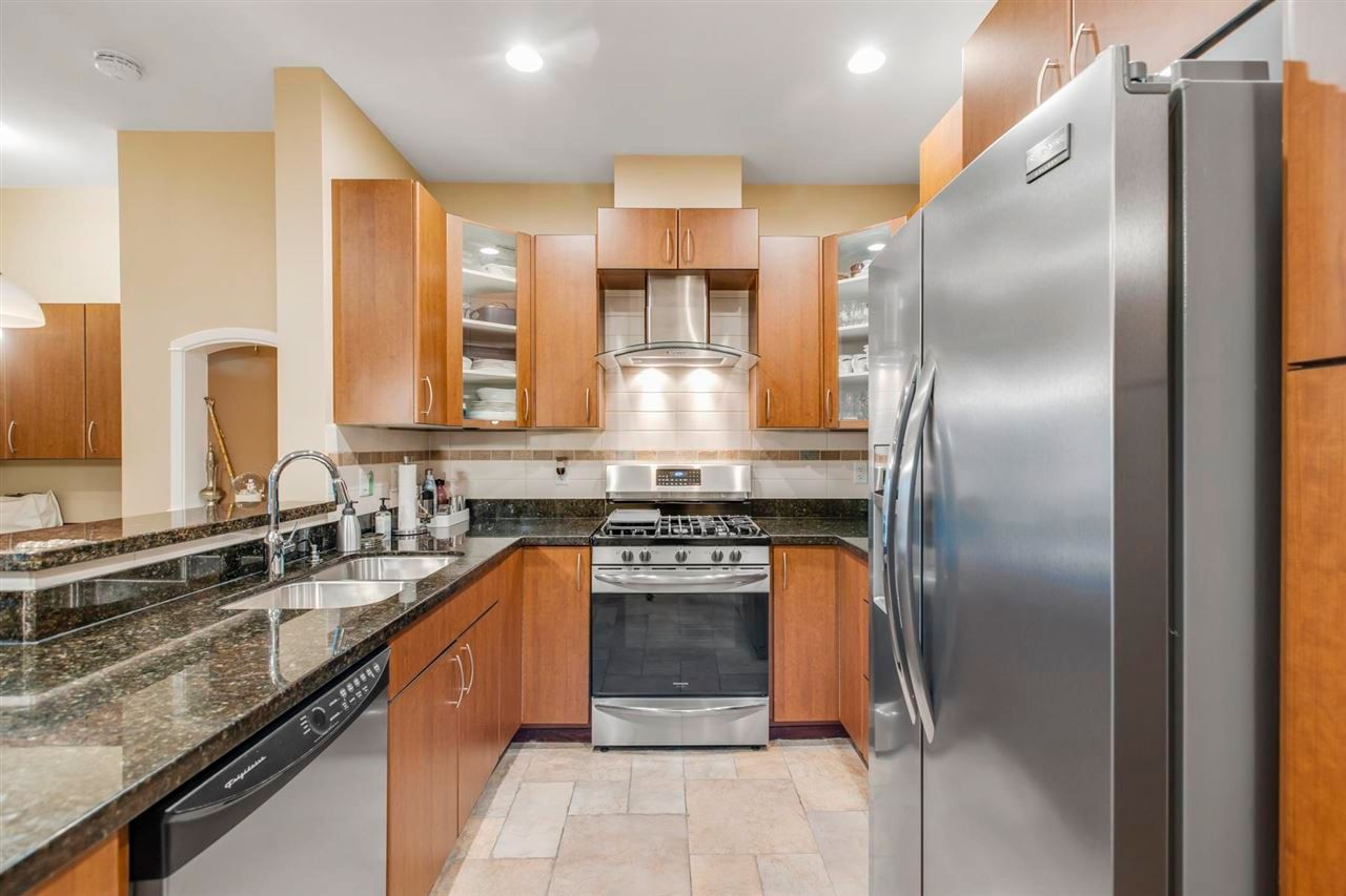 """Main Photo: 217 990 ADAIR Avenue in Coquitlam: Maillardville Condo for sale in """"ORLEANS RIDGE"""" : MLS®# R2575292"""