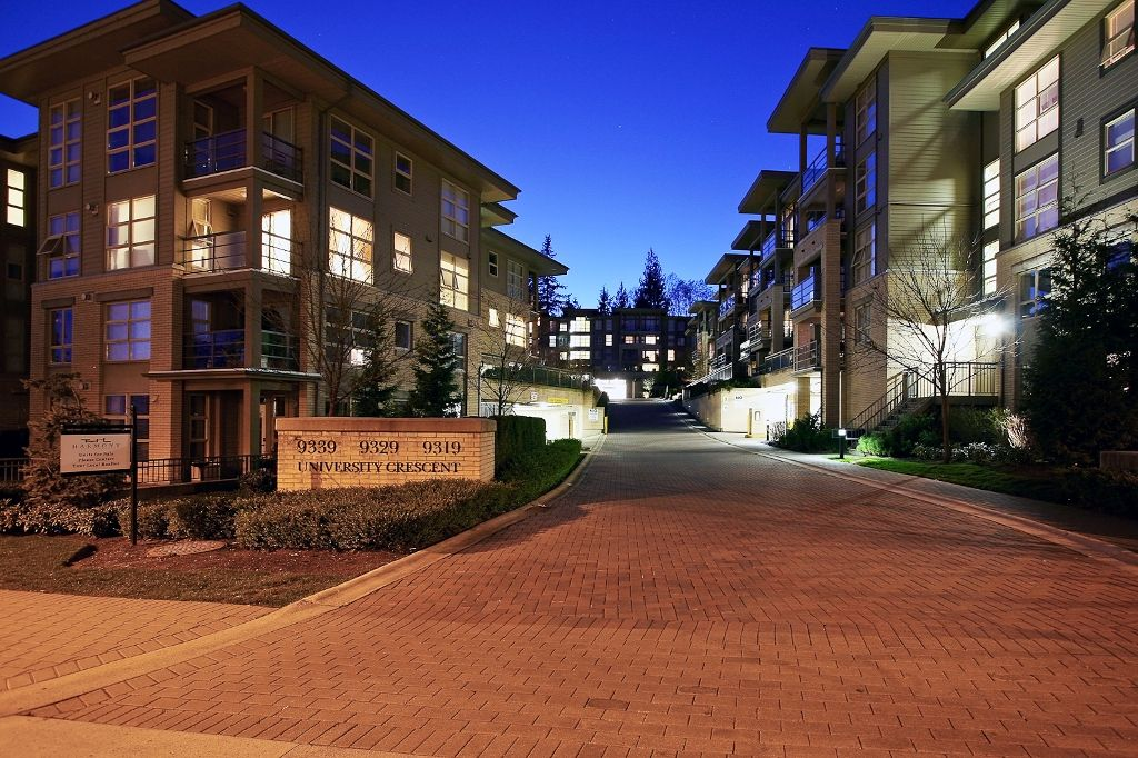 """Photo 13: Photos: 313 9319 UNIVERSITY Crescent in Burnaby: Simon Fraser Univer. Condo for sale in """"HARMONY AT THE HIGHLAND"""" (Burnaby North)  : MLS®# V924825"""