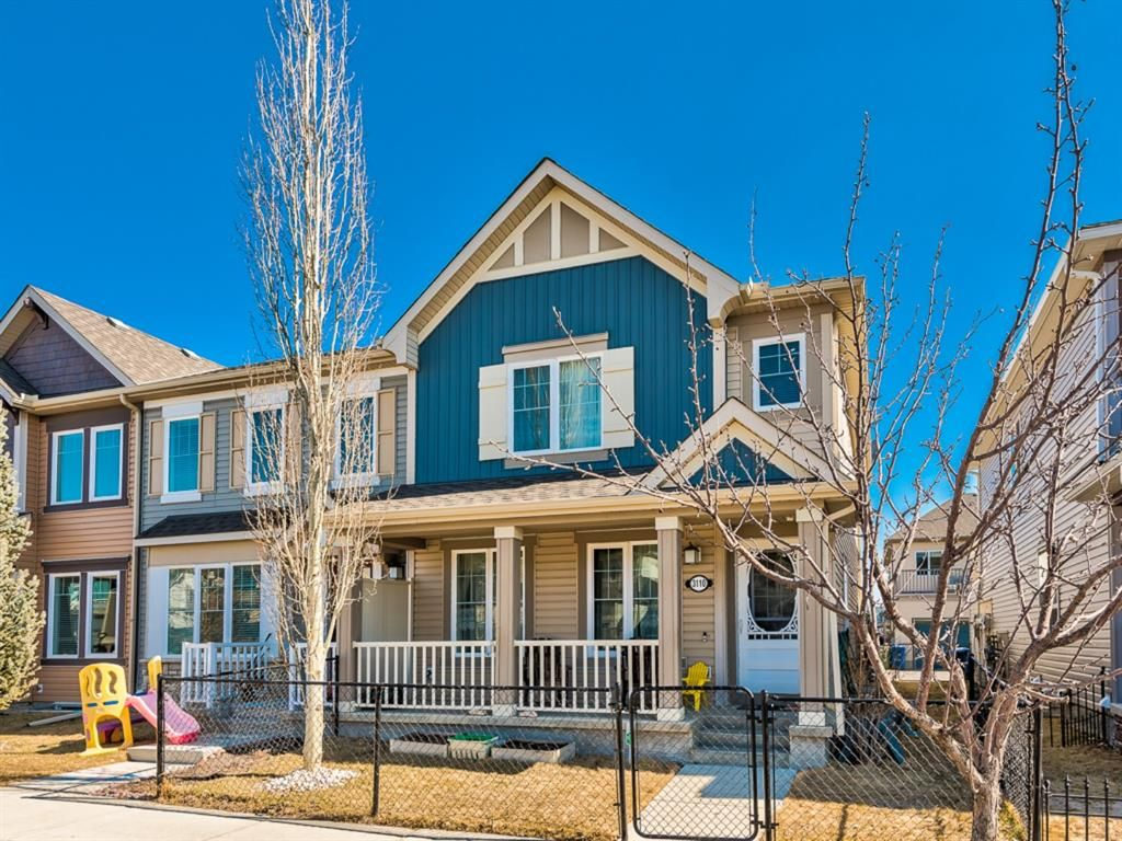 Main Photo: 3110 Windsong Boulevard SW: Airdrie Row/Townhouse for sale : MLS®# A1078830