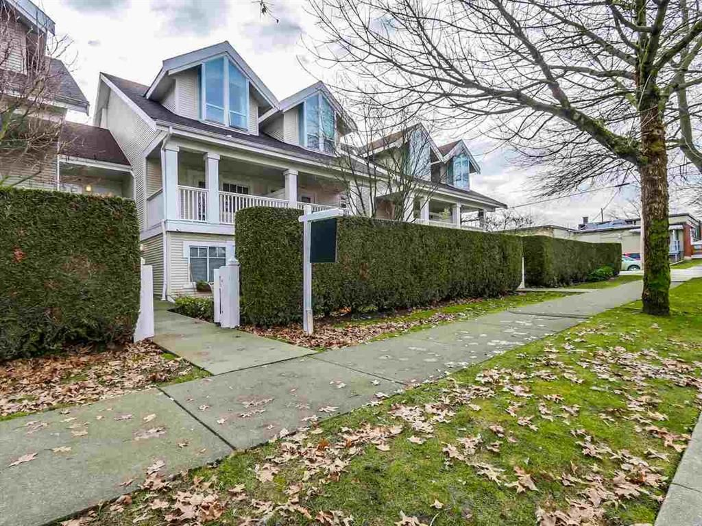 Main Photo: 2428 E 8th Ave. in Vancouver: Renfrew VE Townhouse for sale (Vancouver East)  : MLS®# R2030880
