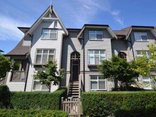 Photo 1: 66 7288 HEATHER Street in Richmond: McLennan North Townhouse for sale : MLS®# R2364655
