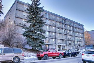 Photo 2: 402 1027 Cameron Avenue SW in Calgary: Lower Mount Royal Apartment for sale : MLS®# A1064323
