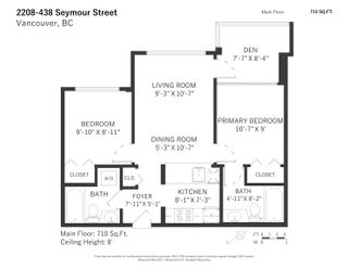 """Photo 23: 2208 438 SEYMOUR Street in Vancouver: Downtown VW Condo for sale in """"Conference Plaza"""" (Vancouver West)  : MLS®# R2610760"""