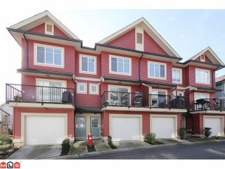 "Photo 1: 25 6635 192ND Street in Surrey: Clayton Townhouse for sale in ""Leafside Lane"" (Cloverdale)  : MLS®# F1204688"