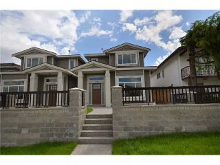 Photo 1: 3734 LINWOOD Street in Burnaby: Burnaby Hospital 1/2 Duplex for sale (Burnaby South)  : MLS®# V911292