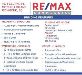 Photo 11: 1071 Eburne Place in Richmond: Industrial for sale