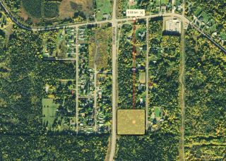 Main Photo: 8265 DOMAGALA Road in Prince George: North Kelly Land for sale (PG City North (Zone 73))  : MLS®# R2547828