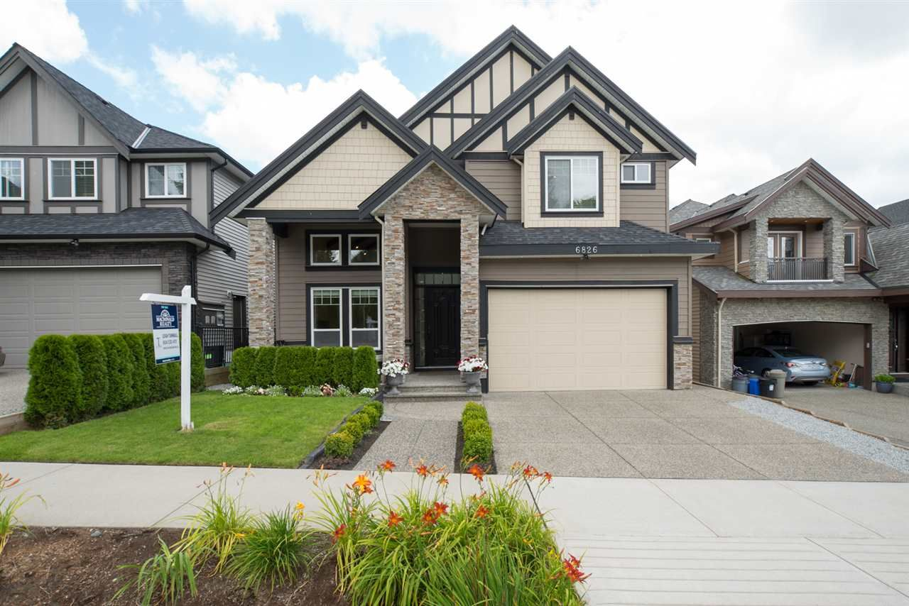 Main Photo: 6826 205 Street in Langley: Willoughby Heights House for sale : MLS®# R2091072
