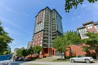 "Photo 1: 308 833 AGNES Street in New Westminster: Downtown NW Condo for sale in ""NEWS"" : MLS®# R2419231"