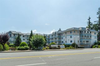 """Photo 1: 205 31930 OLD YALE Road in Abbotsford: Abbotsford West Condo for sale in """"Royal Court"""" : MLS®# R2413572"""