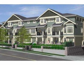 """Photo 1: 104 4025 NORFOLK Street in Burnaby: Central BN Townhouse for sale in """"NORFOLK TERRACE"""" (Burnaby North)  : MLS®# V765594"""