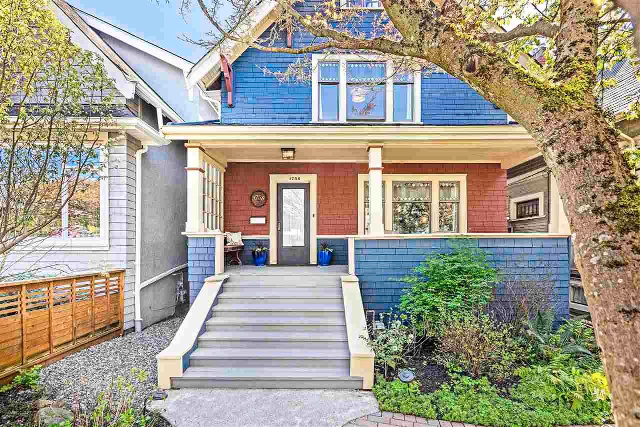Main Photo: 1758 CHARLES Street in Vancouver: Grandview Woodland House for sale (Vancouver East)  : MLS®# R2570162