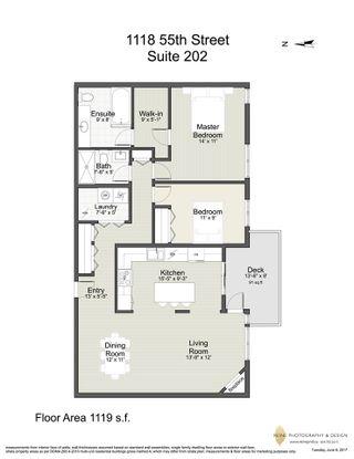 "Photo 20: 202 1118 55 Street in Delta: Tsawwassen Central Condo for sale in ""CAMBRIDGE PLACE"" (Tsawwassen)  : MLS®# R2175508"