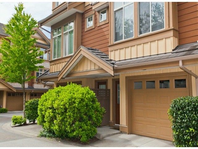 "Main Photo: 51 15151 34 Avenue in Surrey: Morgan Creek Townhouse for sale in ""SERENO"" (South Surrey White Rock)  : MLS®# F1412695"