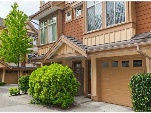 "Main Photo: 51 15151 34 Avenue in Surrey: Morgan Creek Townhouse for sale in ""SERENO"" (South Surrey White Rock)  : MLS®# F1412695"