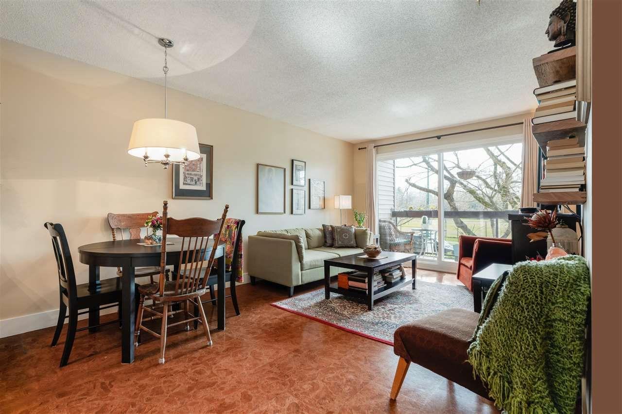 """Main Photo: 209 1429 E 4TH Avenue in Vancouver: Grandview Woodland Condo for sale in """"Sandcastle Villa"""" (Vancouver East)  : MLS®# R2554963"""