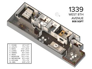 """Photo 28: 1339 W 8TH Avenue in Vancouver: Fairview VW Townhouse for sale in """"Fairview Village"""" (Vancouver West)  : MLS®# R2544779"""