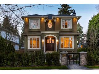 Main Photo: 2107 W 36TH Avenue in Vancouver: Quilchena House for sale (Vancouver West)  : MLS®# V1124555