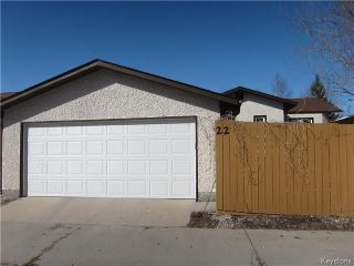 Photo 20: 22 Cedargrove Crescent in Winnipeg: Mission Gardens Residential for sale (3K)  : MLS®# 1806788