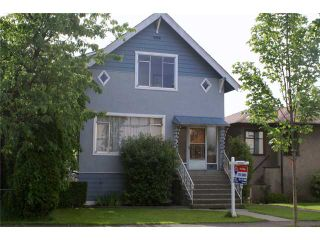 Photo 1: 3855 TUPPER Street in Vancouver: Cambie House for sale (Vancouver West)  : MLS®# V959153