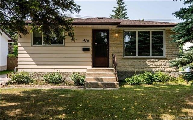 Main Photo: 418 Golf Boulevard in Winnipeg: Westwood Residential for sale (5G)  : MLS®# 1722817