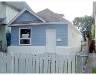 Photo 1: 658 VICTOR Street in WINNIPEG: West End / Wolseley Residential for sale (West Winnipeg)  : MLS®# 2900626