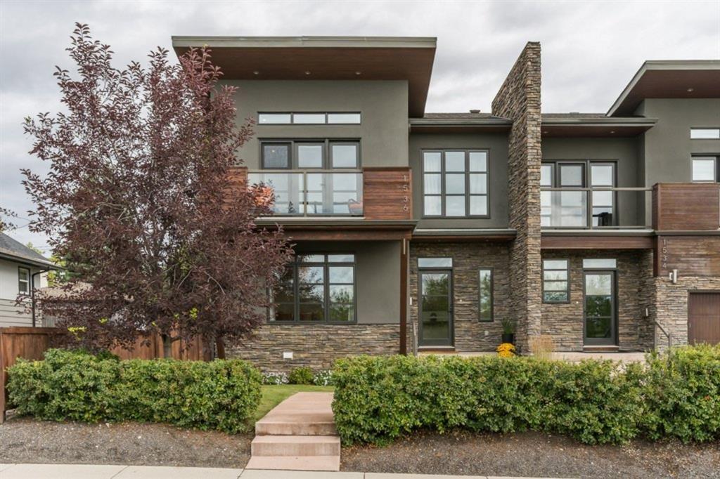 Main Photo: 1536 38 Avenue SW in Calgary: Altadore Semi Detached for sale : MLS®# A1021932