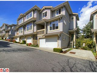 """Photo 1: 28 14959 58TH Avenue in Surrey: Sullivan Station Townhouse for sale in """"SKYLANDS"""" : MLS®# F1210484"""