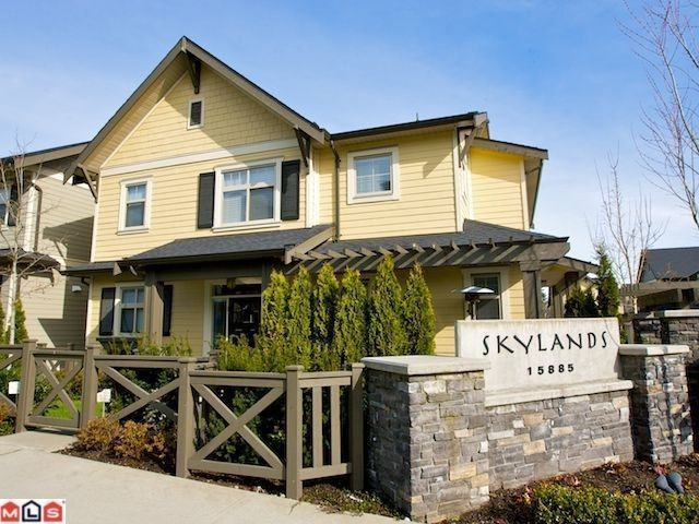 Main Photo: # 1 15885 26TH AV in surrey: Grandview Surrey House for sale (Surrey)  : MLS®# F1108957