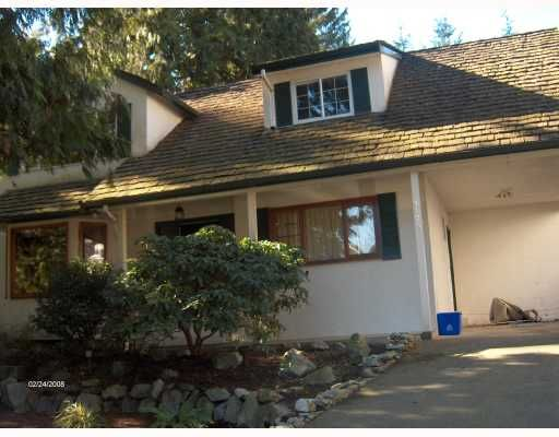 """Main Photo: 1173 LINNAE Avenue in North_Vancouver: Canyon Heights NV House for sale in """"CANYON HEIGHTS"""" (North Vancouver)  : MLS®# V692276"""