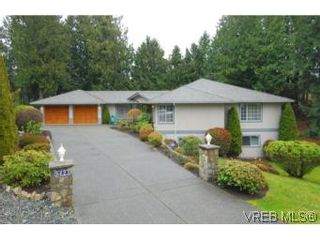 Photo 1: 8623 Minstrel Pl in NORTH SAANICH: NS Dean Park House for sale (North Saanich)  : MLS®# 497902