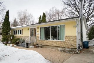 Photo 1: 637 Kilkenny Drive in Winnipeg: Fort Richmond Residential for sale (1K)  : MLS®# 1806711
