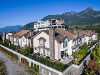 """Photo 1: 25 1204 MAIN Street in Squamish: Downtown SQ Townhouse for sale in """"AQUA AT COASTAL VILLAGE"""" : MLS®# V1140937"""