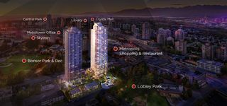 "Photo 1: 2008 6538 NELSON Avenue in Burnaby: Metrotown Condo for sale in ""MET2"" (Burnaby South)  : MLS®# R2554675"
