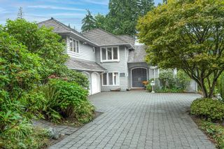 """Photo 1: 4941 WATER Lane in West Vancouver: Olde Caulfeild House for sale in """"Olde Caulfield"""" : MLS®# R2615012"""
